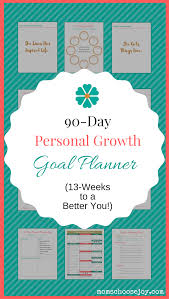 Goal Worksheets For Adults How To Make Real Goal Progress In 13 Weeks With A 90 Day Personal