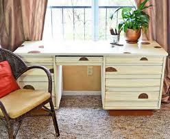 Vintage Desk With Hutch by How To Antique A Desk In 4 Easy Steps