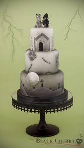 Halloween Wedding Cake Toppers 24 Completely Bewitching Tim Burton Inspired Wedding Ideas
