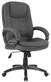 UBiZ Furniture OCH028F Comfy Grey Fabric Office Chair