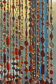 70s Beaded Door Curtains How To Hang Up Beaded Curtains Gopelling Net
