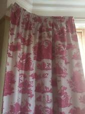 Laura Ashley Baroque Raspberry Curtains Laura Ashley Made To Measure Curtains Ebay
