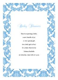 damask baby shower invitation template