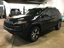 cherokee jeep 2016 black used 2016 jeep cherokee backup camera air conditioning 4 door