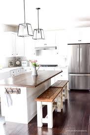 kitchen islands on pinterest updated kitchen island on wheels designhome design styling