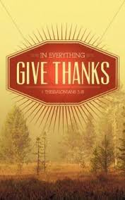 a thankful church bulletin cover welcomes your congregation to