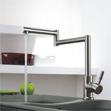 kitchen faucets high end end stretch stainless steel brushed nickel kitchen faucets