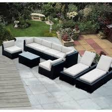 patio lounge set ohana depot 9 piece wicker patio furniture and