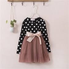 polkadot top precious black white polkadot top with mocha brown tulle skirt