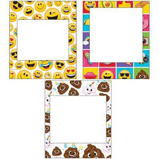 photo booth picture frames emoji photo booth frames props pk3 party planet