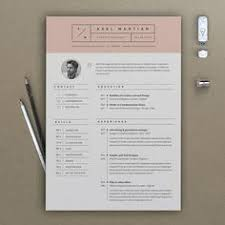 Sample Cv Resume Elegant 2 Page Cv Template 2 Page Resume By Chictemplates