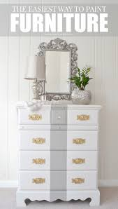 Painting Furniture White by Livelovediy How To Paint Furniture