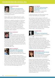 writers u0027 festival programme 2016 by the university of winchester