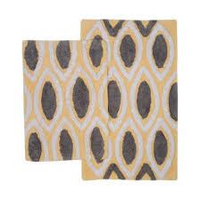 yellow and grey bath rug rug designs