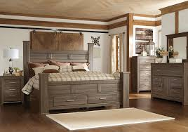Storage Bed Sets King Juararo King Poster Storage Bedroom Set Overstock