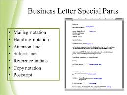 best ideas of parts of a business letter subject line also resume