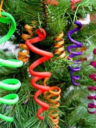 christams projects sculpey ribbons