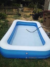 Backyard Inflatable Pool by From Brooks U2014 Brooks Roddan
