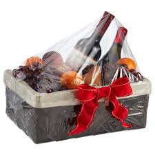 where to buy cellophane wrap for gift baskets jumbo and xx jumbo basket bags the container store