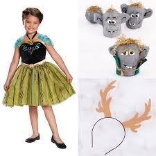 Anna Elsa Halloween Costumes Halloween Costumes U0026 Diys Fit Princess Disney Family