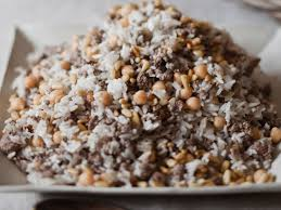 spiced and rice dressing with chickpeas recipe sam mogannam