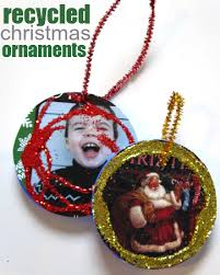 simple recycled ornament craft for