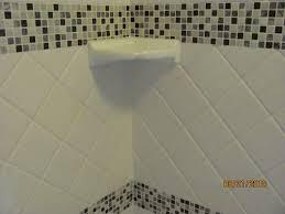 Ceramic Bathroom Shelves Shower Ceramic Corner Shelf Home Design Ideas And Pictures