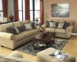 Fabric Living Room Furniture by Caramel Color Casual Traditional Sofa Set Couch Fabric Living Room