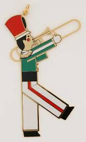 reed barton marching band ornaments at replacements ltd