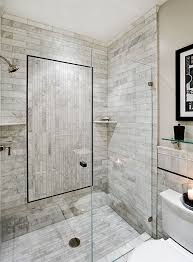 Large Bathroom Showers Bathroom Shower Designs A Large Quartz Shower Seat Was Builtin To
