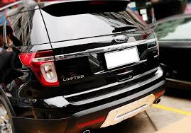 2013 ford explorer upgrades accessories for ford explorer only rear bumper sill plate