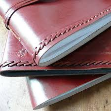 Handmade Leather Photo Albums Handmade Leather Photo Albums By Paper High Notonthehighstreet Com