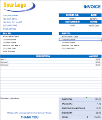 Excel Invoice Template Mac Free Excel Invoice Templates Smartsheet