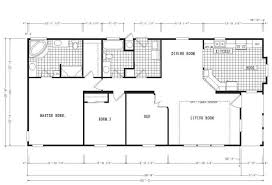 Floor Plans For Mobile Homes Double Wide Mobile Home Floor Plans With Open Wide Bedroom Ranch Double