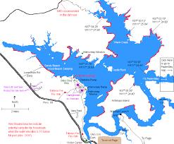 lake mead map lake powell maps