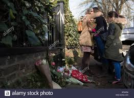 george michael home george michael fans outside his london home as the pop superstar