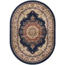 6 X 9 Oval Area Rugs Oval Blue Area Rugs Rugs The Home Depot