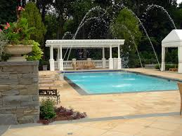 Swimming Pool Ideas For Backyard Nj In Ground Swimming Pool Design U0026 Installation Company