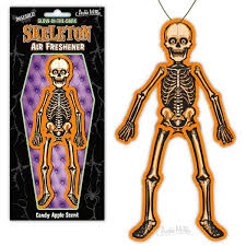 poseable skeleton skeleton air freshener archie mcphee co