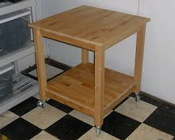 Ikea Rolling Kitchen Island by Norden Tables Turn Into Rolling Kitchen Island Ikea Hackers