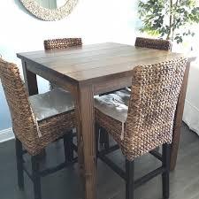 Reclaimed Wood Bar Table 42 Rustic Reclaimed Wood Bar Table Bar Height Table