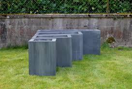 fontaine murale en zinc attractive bac en zinc jardin 10 quelques idées
