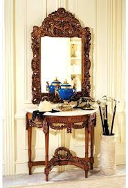 console table and mirror set foyer console table console table mirror set chateau console table