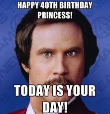 Funny 40th Birthday Memes - happy 40th birthday memes wishesgreeting