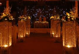 wedding decorations with lights wedding corners