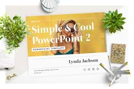 simple u0026 cool powerpoint template presentation templates