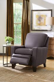 Low Profile Furniture by Cabot Low Profile Recliner Brown U0027s Furniture Showplace