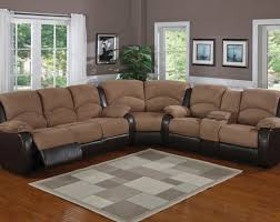 Sectional Reclining Sofa With Chaise Riveting Reclining Sofa Sectionals For Small Spaces Tags