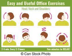 exercice au bureau infographic bureau character vecteur exercices homme