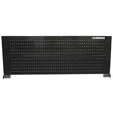 home depot 9 drawer chest husky black friday husky 52 in pegboard back wall for tool cabinet black tool